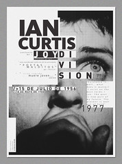Ian Curtis (- vanth -) Tags: new blanco rock ian design punk order post negro joy division diseo ejemplo curtis tipografia inspiracion maldito personaje poeta oscuro estructura composicion legado precursor inspirador posmodernismo