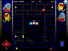 Pac-Man Screen Shot from iPad