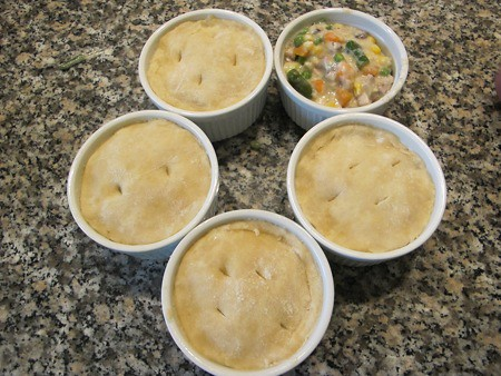 Farmer Bob's Chicken Pot Pies