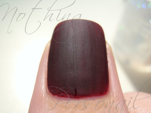 Barry M Red Black with Matte Magic