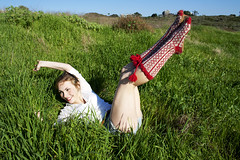 Love it (brett.S.photography) Tags: cute grass smiling model pretty indy sunny loveit vogue