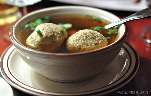 Matza Ball Soup at Moscow on the Hill ~ St Paul, MN
