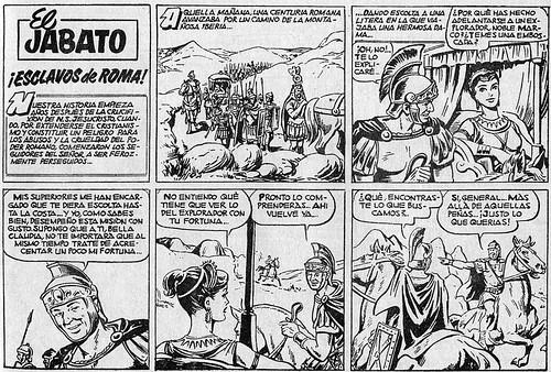 012-El Jabato nº 1- edicion 1958-pagina 1