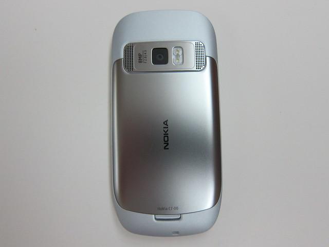 Nokia C7 Back
