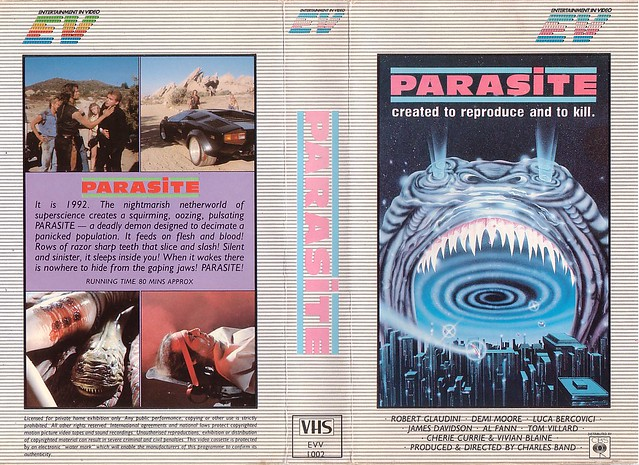 PARASITE (VHS Box Art)