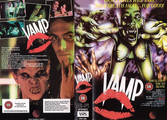 Vamp (VHS Box Art)