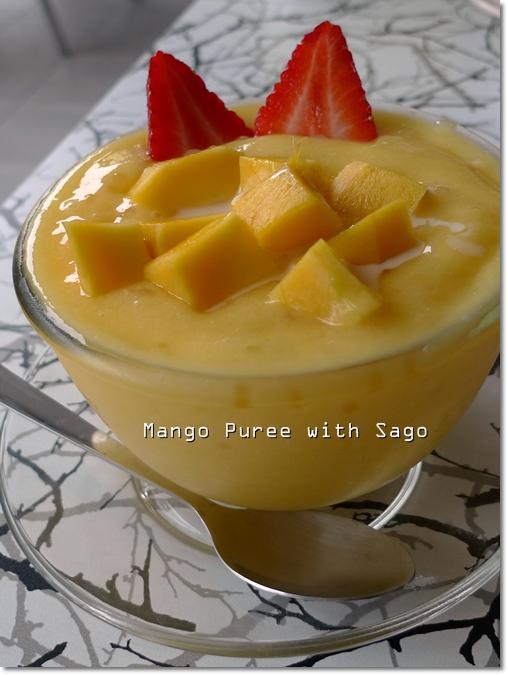 Mango Puree Sago