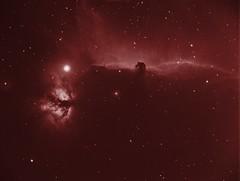 Flame and horse (Mickut) Tags: flame nebula ngc2024 ic434 horsehead barnard33 starlightxpress Astrometrydotnet:status=solved Astrometrydotnet:version=14400 sxvrh18 sh2227 Astrometrydotnet:id=alpha20110249612956
