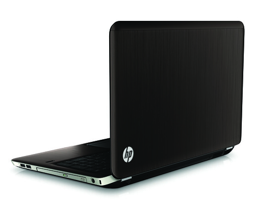 HP Pavilion dv7, rear right open