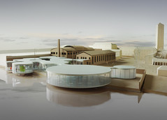 Murano Glass Museum Model (Pierre E Fieschi) Tags: glass museum architecture project pierre murano fieschi