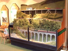 Photo of Model of Killiecrankie Pass, Perthshire