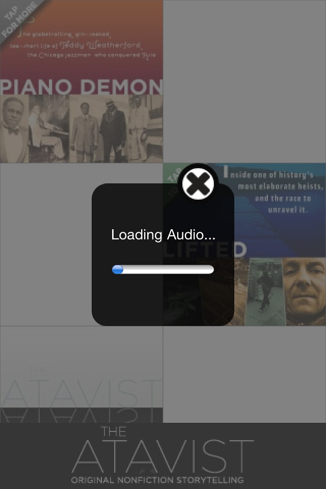The Atavist - Downloading...