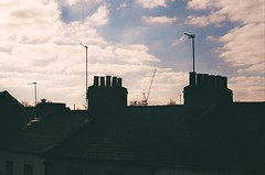 92340026 (dkohara50) Tags: morning blue roof chimney sky clouds rooftops roofs oxford chimnies