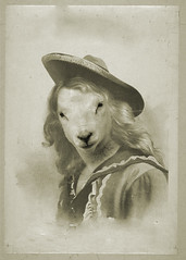 Dolly (Dylan_Murphy) Tags: classic vintage graphics sheep antique manipulation western dolly
