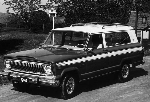 1974 Jeep Cherokee. 1974 Jeep Cherokee Chief 4X4