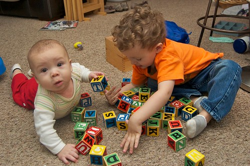 The Boys Like Blocks