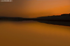From sunset   (A.Alwosaibie) Tags: from sunset reflection yellow photo nikon shot 2011 d90 18105mm aalwosaibie