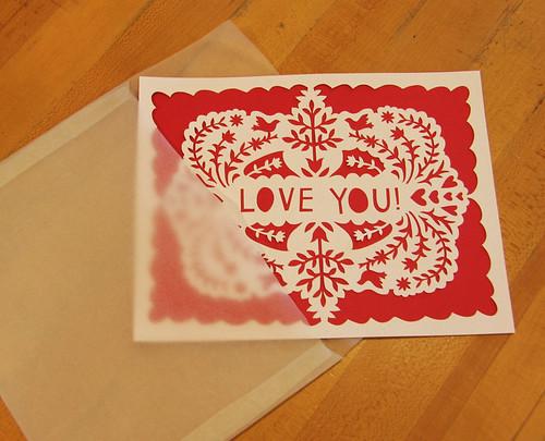 papercut valentine