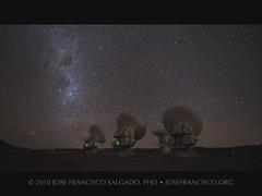 ALMA 16-17 June 2010 (Seq 1 & 2) (josefrancisco.salgado) Tags: chile longexposure sky night stars star evening noche timelapse nikon nocturnal desert plateau alma misc observatory galaxy astrophotography cielo astrofotografa estrellas nocturna astronomy desierto nightsky nikkor smc plain estrella d3 galaxia lmc llano radiotelescope sanpedrodeatacama observatorio astronoma interferometer exposicinlarga desiertodeatacama radiotelescopio cielonocturno themilkyway smallmagellaniccloud atacamadesert repblicadechile lavalctea largemagellaniccloud d700 interfermetro republicofchile 1424mmf28g dwarfgalaxy irregulargalaxy iiregindeantofagasta llanodechajnantor grannubedemagallanes pequeanubedemagallanes galaxiaenana galaxiairregular provinciadeelloa atacamalargemillimeterarray chajnantorplain llanodechajnantorobservatory