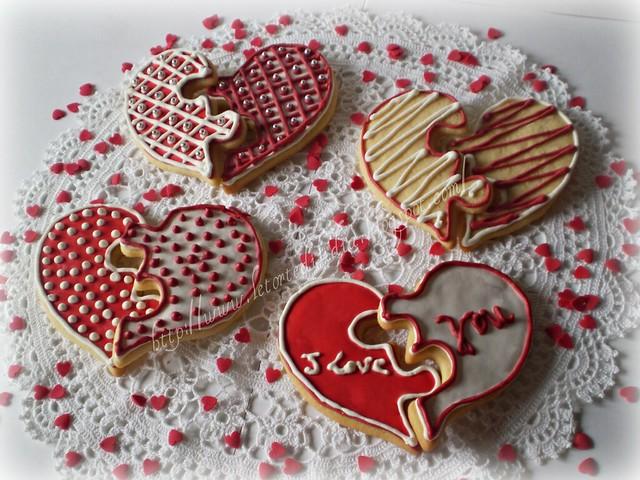 cuori di frolla al burro per un dolce San Valentino