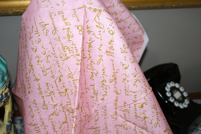 Pink French Script