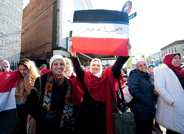 Good Bye Mubarak 4: Bay Ridge