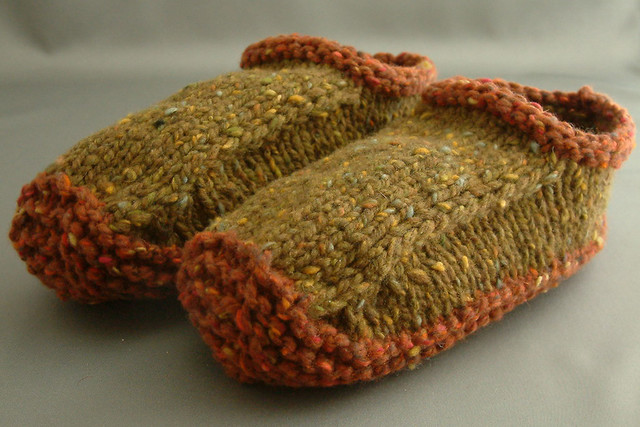 Non-felted Slippers by Yuko Nakamura