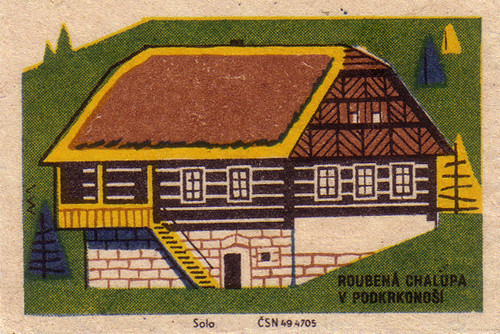 Log House in Podkrkonosí