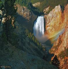 Lower Falls (Patrick N. Oglesby) Tags: autumn waterfalls yellowstonenationalpark thehighlander godlovesyou coth absolutelystunningscapes dragondaggerphoto coth5
