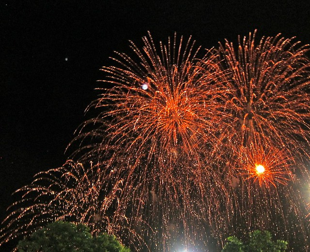 Fireworks On The Esplanade