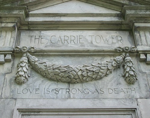 carrie tower (detail)