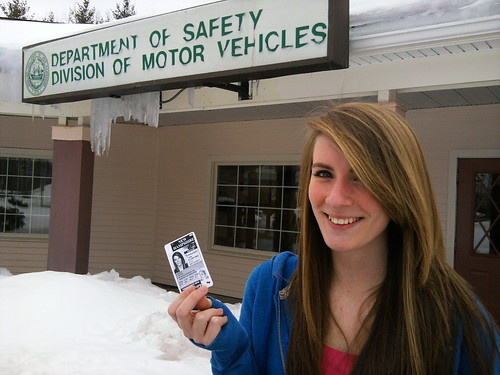 Lisa gets her license