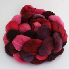 Vino for Valentine on Superwash BFL
