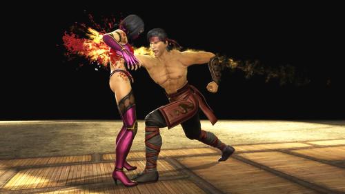 Mortal Kombat: Liu Kang fatality