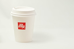 illy Cup Product Shot (Christopher Brian's Photography) Tags: red white colour coffee coffeecup hotchocolate highkey illy productphotography sigma105mmex28 canoneos7d