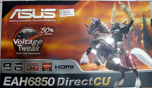 Asus EAH 6850 顯卡外盒