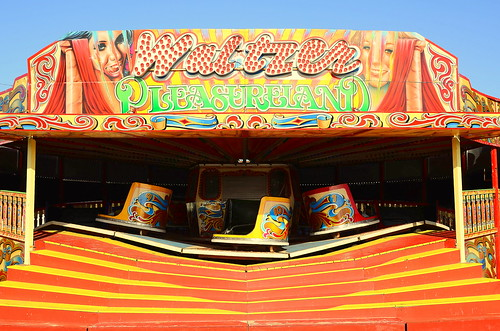 Waltzer At Southport Fairground