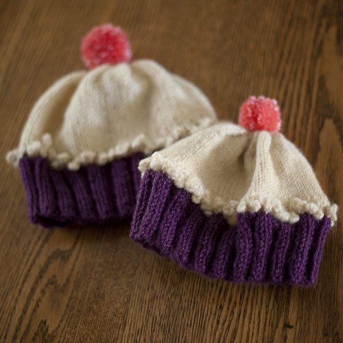 Free Doll Knitting Patterns Download : Cupcake Hat Pattern   Browse Patterns