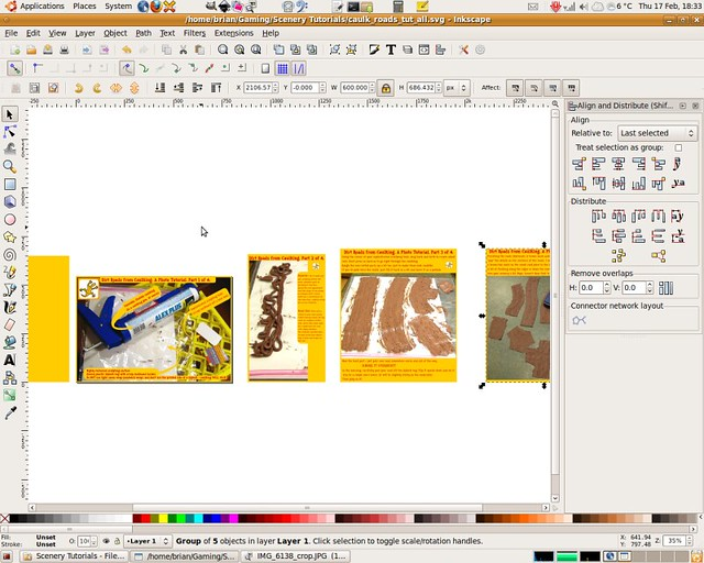 inkscape canvas