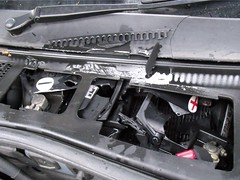 Today my car battery exploded