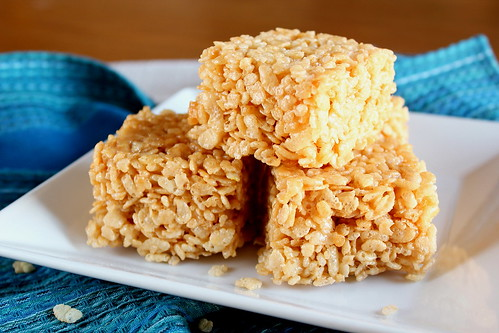 brown butter rice krispie bars