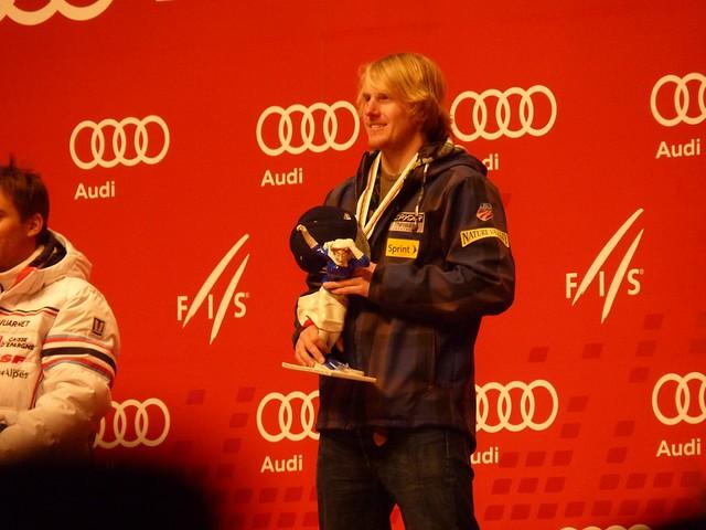Der Weltmeister im Riesenslalom: Ted Ligety