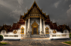 Temple of the Sun. (Silent Resilience) Tags: travel architecture thailand temple gold nikon worship bangkok buddha religion buddhism prayers farah silentresilience