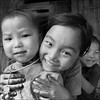 Smiles, tears and fun.. (NaPix -- (Time out)) Tags: portrait bw kids fun tears action vietnam emotions sapa hmong kidslife flickraward napix