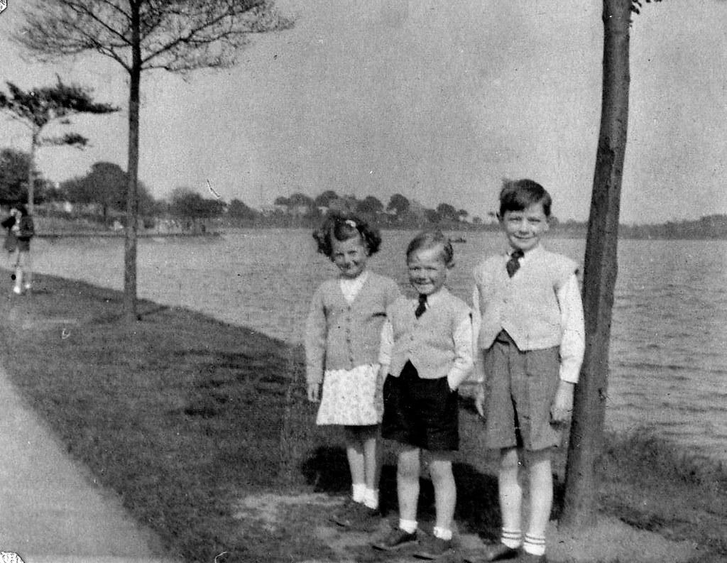 Linda Eadie with Roderick and Douglas McCreath 1954