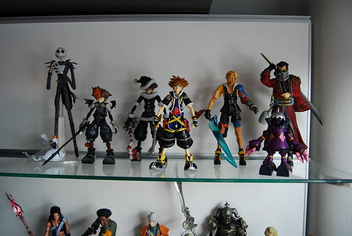 FF10 and Kingdom Hearts figures