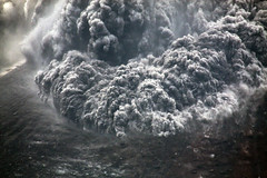 Pyroclastic flow front (hshdude) Tags: indonesia flow ash volcanoes eruption pyroclastic krakatau