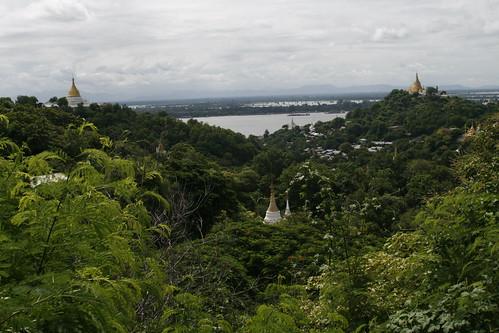 Vistas desde la colina de Sagain