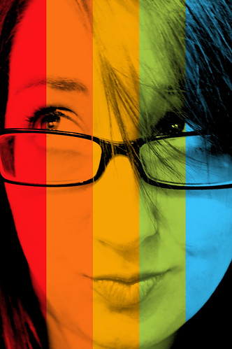 rainbow portrait