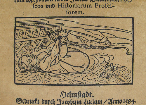 Detail from Bericht von Erforschung/Prob vnd Erkentnis der Zauberinnen durchs kalte Wasser